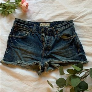 Free People Jean shorts size 24